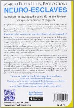 Livres Couvertures de Neuro-esclaves - Techniques et psychopathologies