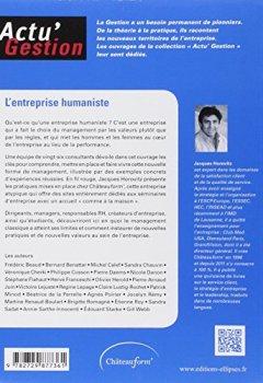 Livres Couvertures de L'Entreprise humaniste : Le management par les valeurs