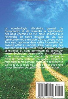 Livres Couvertures de La numérologie vibratoire: Comprendre son chemin de vie pour aller vers sa mission de vie