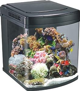 Aquarium Nano Cube Marine Fish Tank 128 Litres HS 60   Halide Lighting