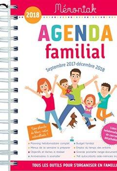 Livres Couvertures de Agenda familial Mémoniak 2017-2018