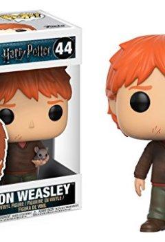 Livres Couvertures de Funko 14938 Figurine POP! Vinyle - Harry Potter - Ron Weasley With ScaBBers