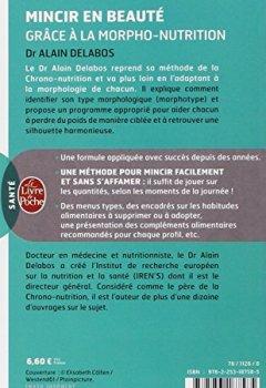 Livres Couvertures de Mincir en beauté grâce à la morpho-nutrition (nouvelle édition)