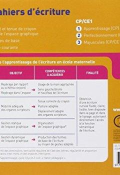 Livres Couvertures de Les Cahiers d'écriture Maternelle éd. 2011 - Cahier 3, L'écriture courante