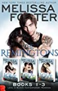 The Remingtons (Book 1-3, Boxed Set): Game of Love, Stroke of Love, Flames of Love (English Edition)