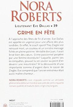 Livres Couvertures de Lieutenant Eve Dallas, Tome 39 : Crime en fête