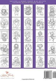 Livres Couvertures de Faedorables - Cute and Creepy Coloring Book