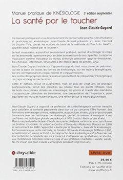 Livres Couvertures de Manuel pratique de kinésiologie