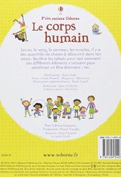 Livres Couvertures de Le corps humain - P'tits curieux Usborne