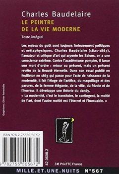 Livres Couvertures de Le Peintre de la vie moderne