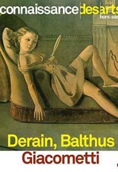 Livres Couvertures de Derain, Balthus, Giacometti