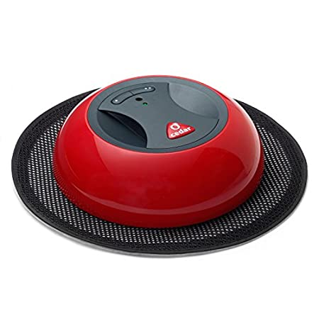 Self rotating duster with automatic navigation<br /> Uses exclusive, disposable electrostatic cloths<br /> The ultimate in convenience<br /> Collects and retains dust and hair on an electrostatic disposable cloth.<br /> Specially designed to clean along the walls and under...