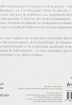 Livres Couvertures de Le placebo, c'est vous ! CD MP3