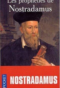 Livres Couvertures de Prophéties : Nostradamus