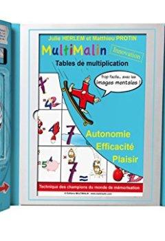 Livres Couvertures de Coffret Multimalin de multiplication (contient 1 livret, 1 DVD et 1 jeu de cartes)