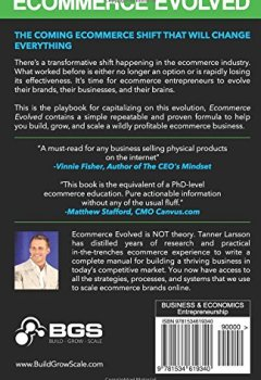 Livres Couvertures de Ecommerce Evolved: The Essential Playbook To Build, Grow & Scale A Successful Ecommerce Business