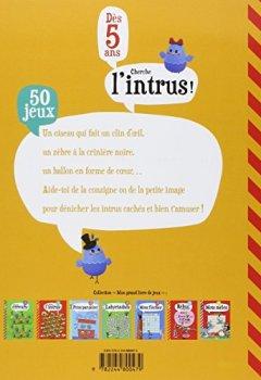 Livres Couvertures de Mon Grand Livre de Jeux : Cherche l'Intrus - Dès 5 ans