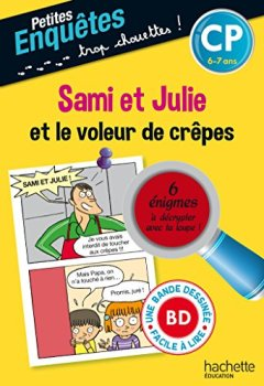 Livres Couvertures de Sami et Julie et le voleur de crêpes CP et CE1 - Cahier de vacances