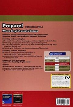 Livres Couvertures de Cambridge English Prepare! Level 5 Workbook with Audio