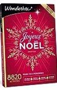 WONDERBOX - Coffret cadeau - JOYEUX NOEL Emotion - 8820 séjours, repas gourmands, moments de détente ou de loisirs