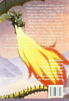 Abdeckungen Harry Potter 4 y el cáliz de fuego (Letras de Bolsillo, Band 103)
