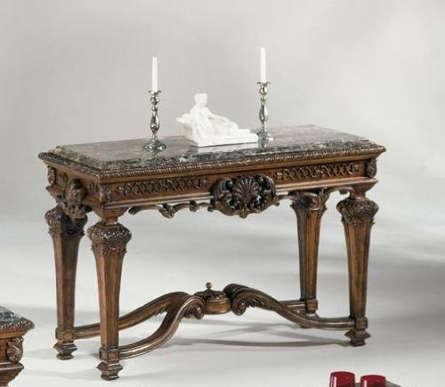 Image of Old World Style Sofa Console Table (T953-4)