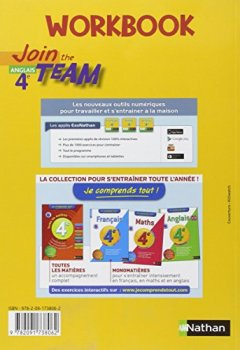 Livres Couvertures de Workbook Join the Team 4e