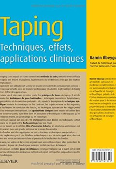 Livres Couvertures de Taping: Techniques, effets, applications cliniques