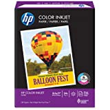 HP Color Inkjet Paper, 96 Brightness, 8.5 x 11 Inches, 500 Sheets (20200-0)