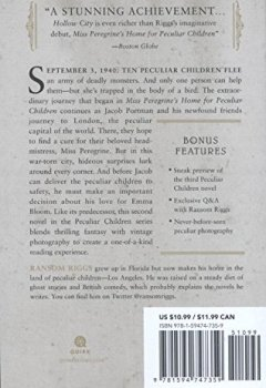 Livres Couvertures de Hollow City: The Second Novel of Miss Peregrine's Peculiar Children (ANGLAIS)