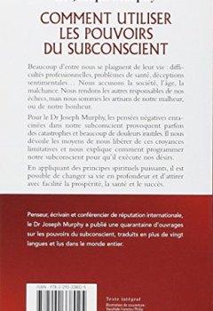 Livres Couvertures de Comment utiliser les pouvoirs du subconscient