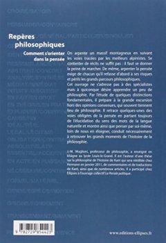 Livres Couvertures de Repères philosophiques - comment s'orienter dans la pensée