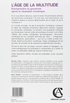 Livres Couvertures de L'âge de la multitude - 2e éd. - Entreprendre et gouverner après la révolution numérique