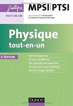 Livres Couvertures de Physique tout-en-un MPSI-PTSI - 2e éd