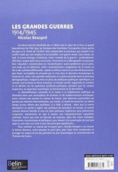 Livres Couvertures de Les Grandes Guerres (1914-1945)