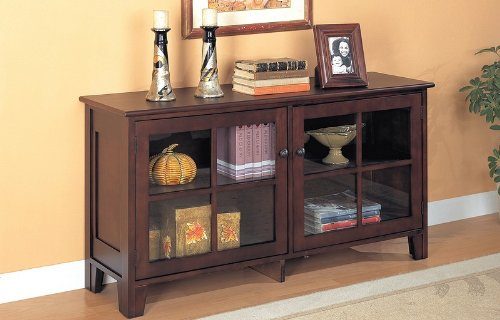 Image of Cappuccino Console Table - Coaster 950162 (VF_AZ00-28420x36066)