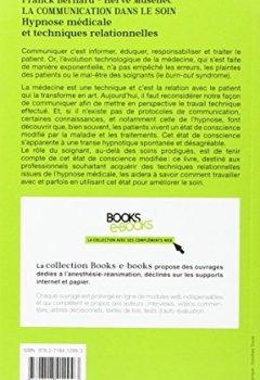 Livres Couvertures de La communication dans le soin: Hypnose médicale et techniques relationnelles.