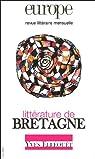 Europe, N° 913, Mai 2005 83e : Littérature de Bretagne