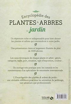 Livres Couvertures de Encyclopédie des plantes & arbres de jardin Nouvelle édition