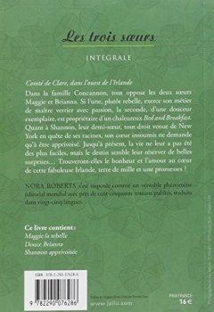 Livres Couvertures de Les trois soeurs : Intégrale : Maggie la rebelle ; Douce Brianna ; Shannon apprivoisée