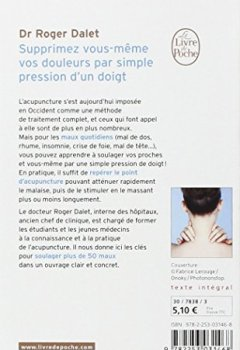 Livres Couvertures de Supprimez vous-même vos douleurs par simple pression d'un doigt