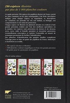 Livres Couvertures de Guide Delachaux des papillons de France : 250 espèces décrites et illustrées