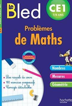 Livres Couvertures de Cahier Bled - Problèmes De Maths Ce1