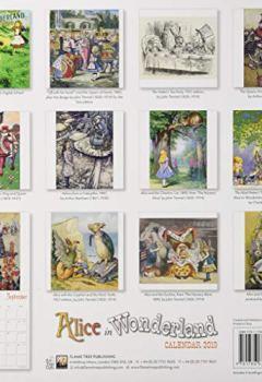Livres Couvertures de Alice in Wonderland Wall Calendar 2019 (Art Calendar)