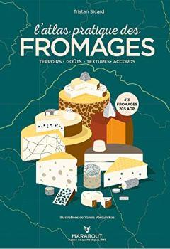 Livres Couvertures de L'atlas pratique des fromages