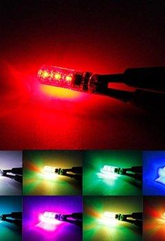 Télécharger FEZZ Auto LED Ampoules T10 5050 6SMD RGB Silicone ...