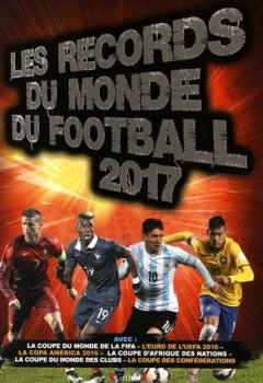 Livres Couvertures de Records du monde du football 2017