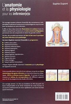 Livres Couvertures de L'anatomie et la physiologie pour les infirmier(e)s