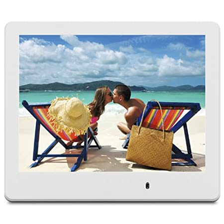 VFD820-70 8-Inch digital photo frame features ultra slim frame design to compliment any décor at home or in the office to showcase your long lasting memory. The beautiful memories come alive with high resolution 800 x 600 screen for brilliant picture...
