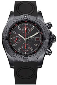 BREITLING-Avenger-Black-Dial-Chronograph-Rubber-Mens-Watch-M133802CBC73